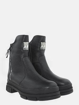 Ботинки черные   5874819