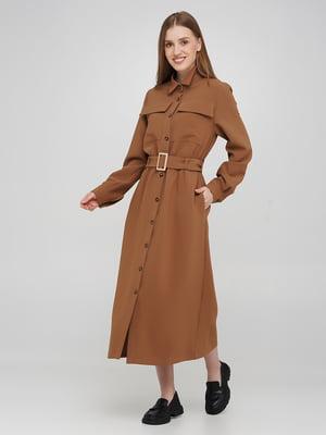 Сукня-сорочка коричнева   5873191