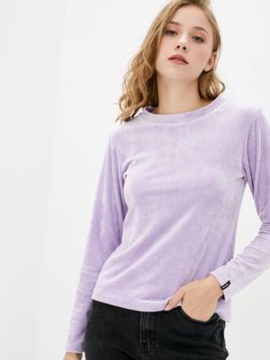 Джемпер фіолетовий велюровий   5877208