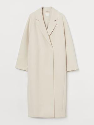 Пальто кремового цвета   5879635