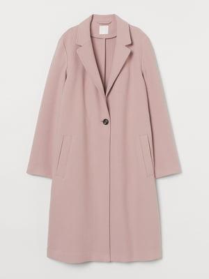 Пальто светло-розовое   5879672