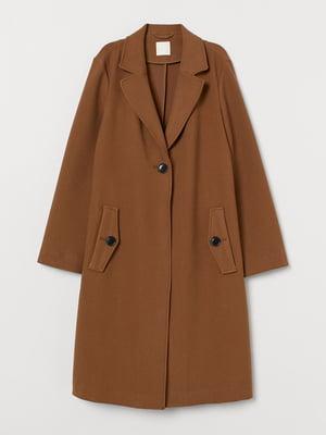 Пальто коричневое   5879681