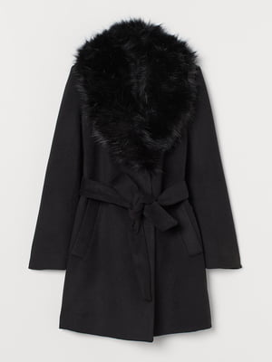 Пальто черное   5879746