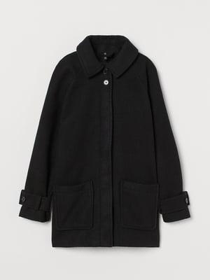Пальто черное   5879776