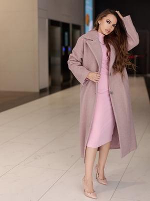 Пальто цвета пудры   5879927