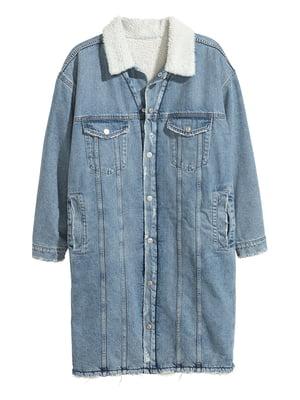 Куртка джинсова блакитна | 5235453