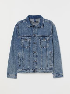 Куртка джинсова блакитна | 5878154