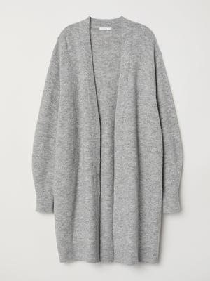Кардиган светло-серый | 5878264