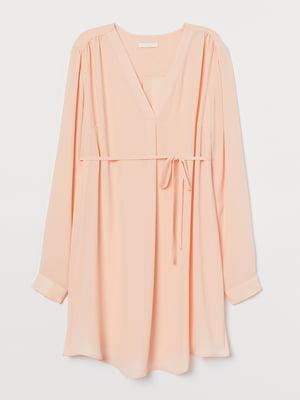 Туніка для вагітних персикового кольору | 5878859