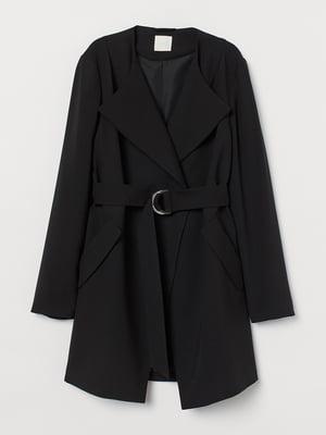 Пальто черное   5878884
