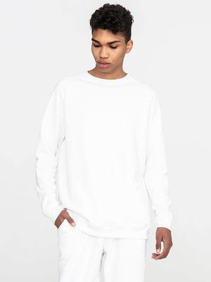 Комплект базовый белый: футболка и свитшот | 5902652
