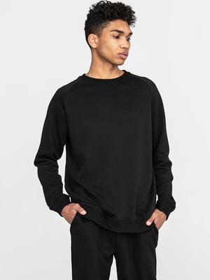 Комплект базовый черный: футболка и свитшот | 5902653