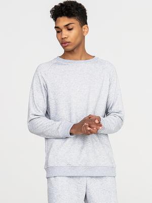 Комплект базовый серый: футболка и свитшот | 5902654