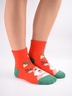 Шкарпетки комбінованого кольору в принт   5902910