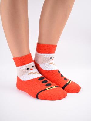 Шкарпетки комбінованого кольору в принт   5902912