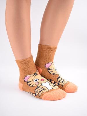 Шкарпетки комбінованого кольору в принт   5902917