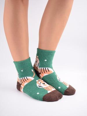 Шкарпетки комбінованого кольору в принт   5902919