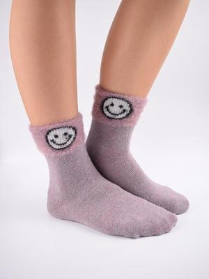 Шкарпетки рожеві в принт   5902958