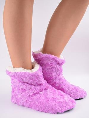 Тапочки-шкарпетки рожеві   5903053