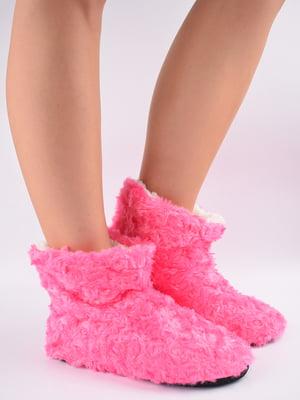 Тапочки-шкарпетки рожеві   5903055