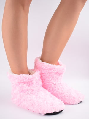 Тапочки-шкарпетки рожеві   5903056