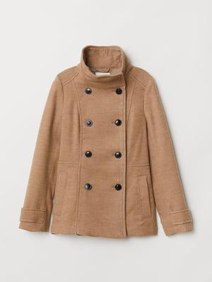 Пальто бежевое   5904537