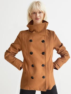 Пальто коричневое   5904538