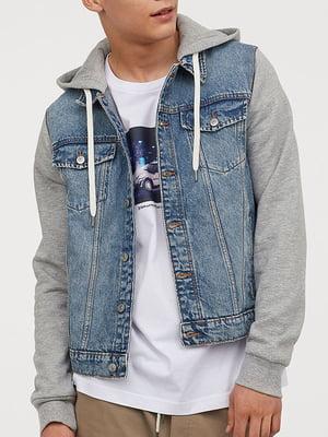 Куртка джинсова блакитна | 5904542
