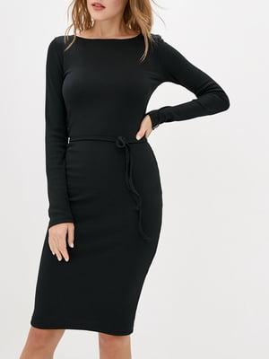 Платье-футляр черное   5905280