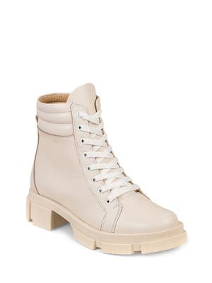 Ботинки бежевые | 5874758