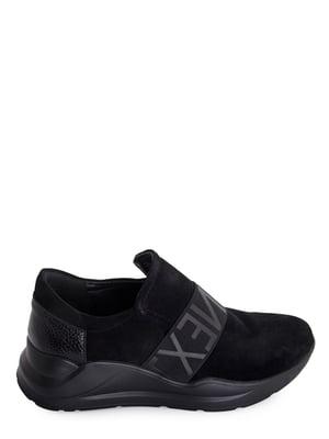 Туфли черные с логотипом | 5906124