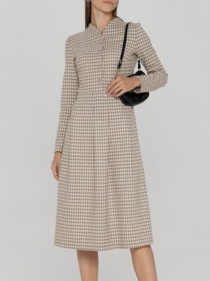 Платье клетчатое   5906887