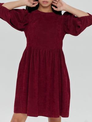 Платье винного цвета   5906869