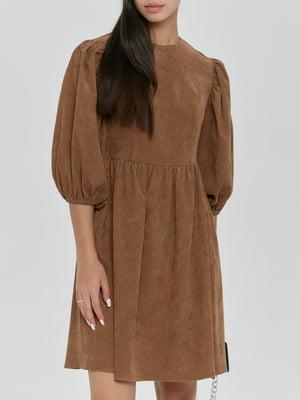 Платье коричневое   5906871