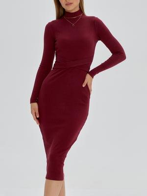 Платье винного цвета   5906872