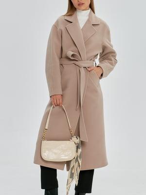 Пальто песочного цвета   5906879