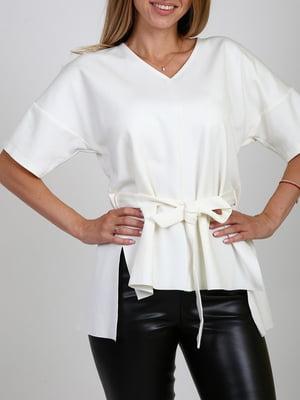 Блуза молочного кольору   5910811