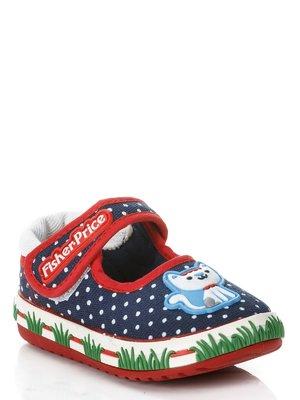 Туфли синие в белый горох - Fisher Price - 460857