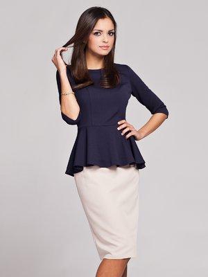 Блуза темно-синяя | 465402