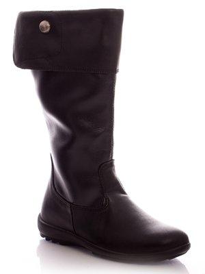 Сапоги черные | 30401