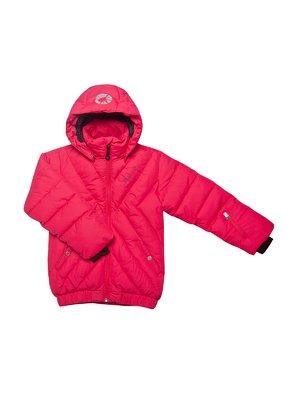 Куртка малинового кольору | 153249