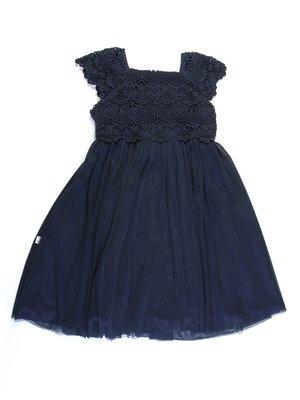 Платье темно-синее | 727773