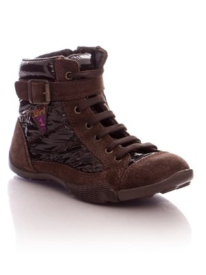 Ботинки темно-коричневые | 30406