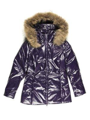 Пальто фиолетовое | 712184