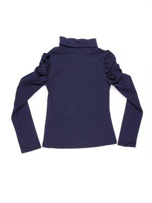 Гольф синий с драпировкой | 754910