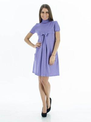 Платье сиреневое с бантиком   46312