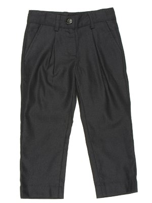 Штани чорно-сині зі складками | 629075
