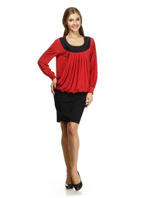 Блуза красная | 632308