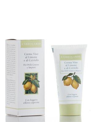 Крем для жирной кожи лица на основе лимона и огурца (50 мл)   688560