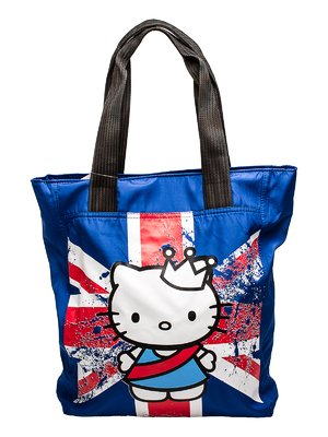 Сумка синяя с Hello Kitty | 92249